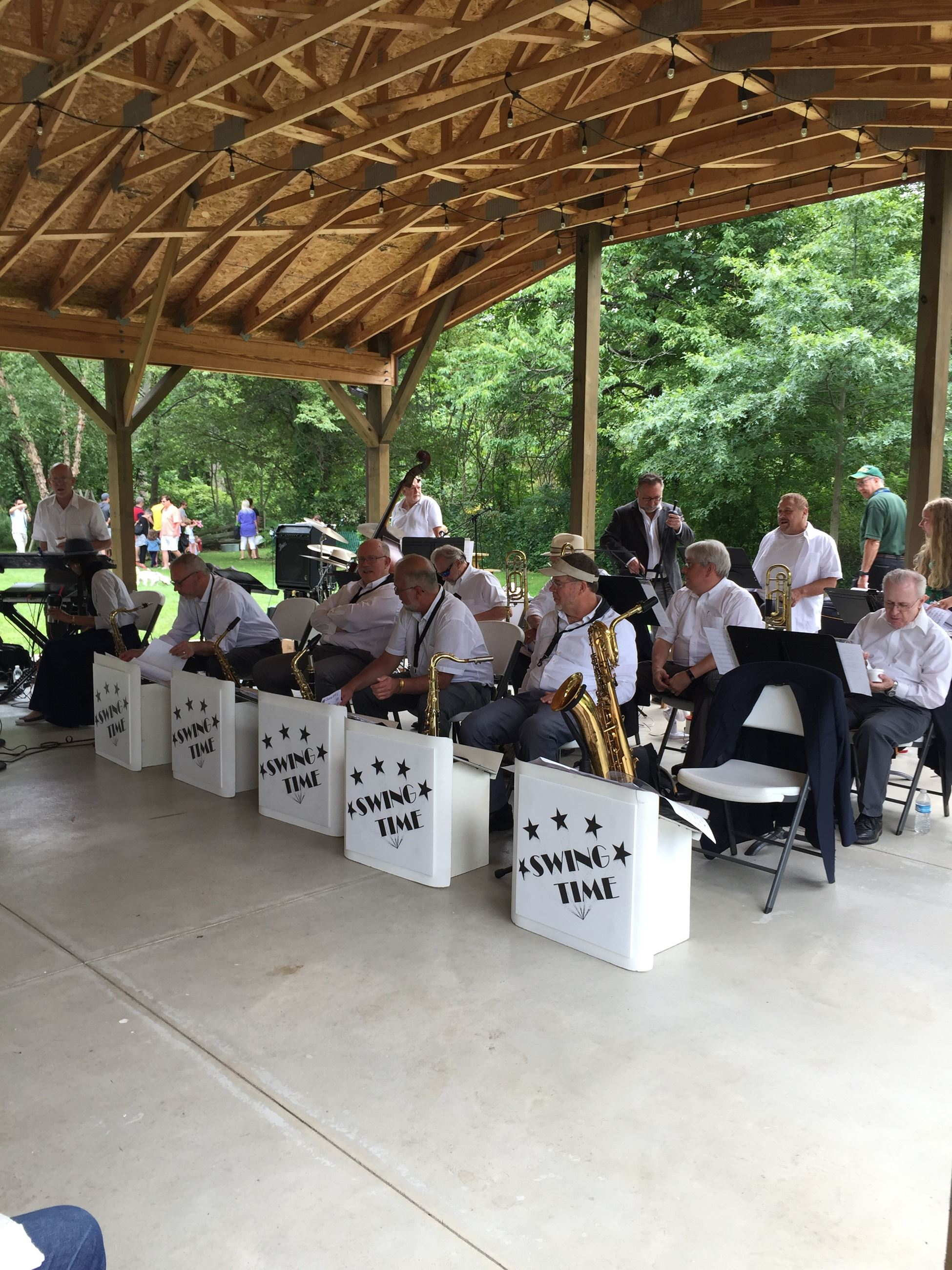 BAND IN PAVILION