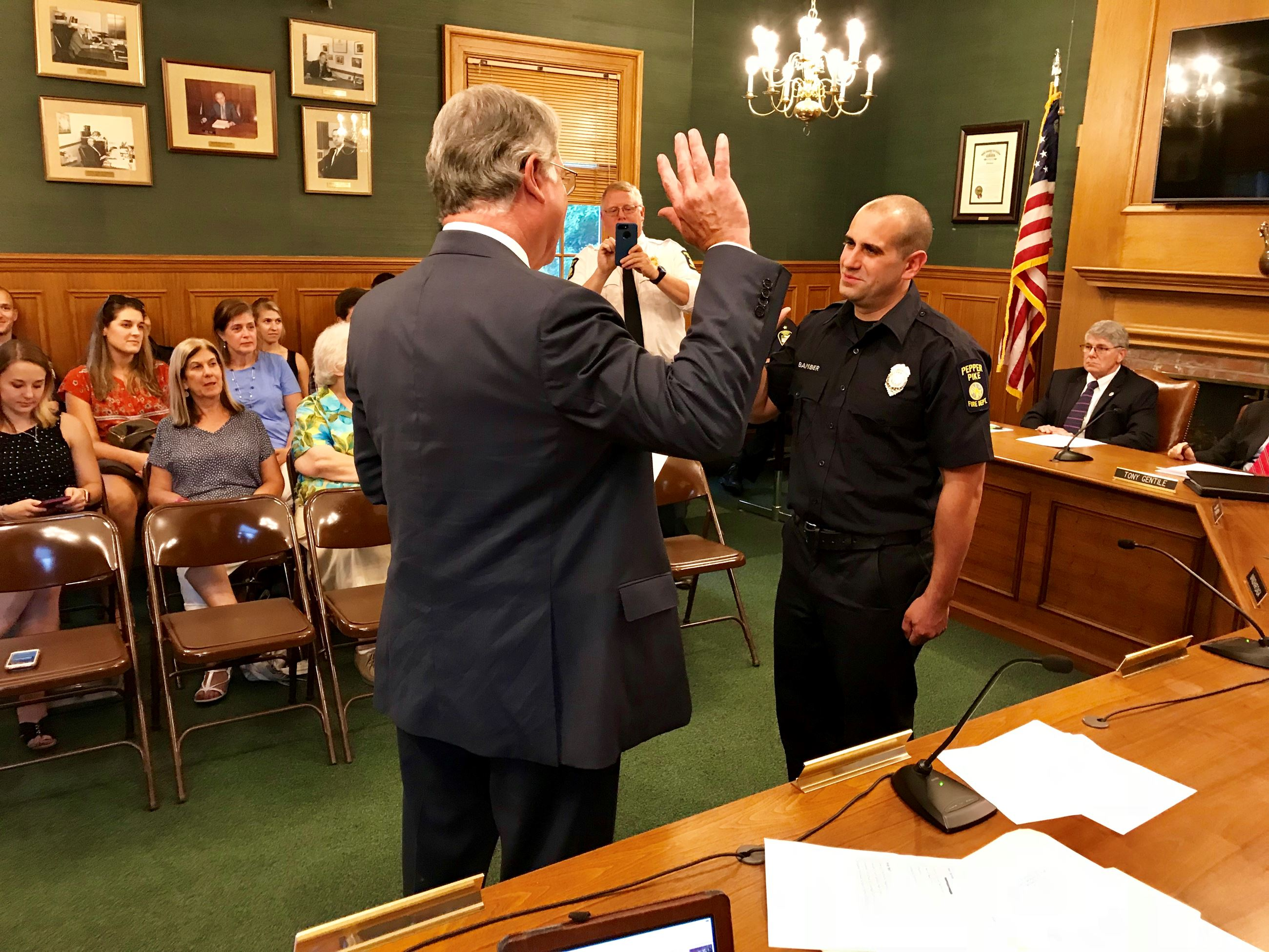 Bamber Swearing-In